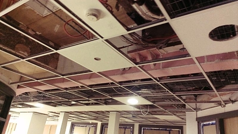 Suspended Ceilings service by O'Brien Interiors